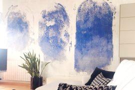 Manchas azules gran formato