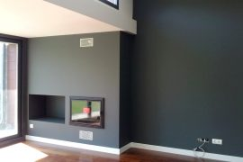 Pintura salon negra